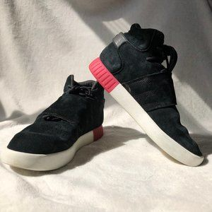 adidas Tubular Invader suede high top
